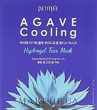 Parfémy, Parfumerie, kosmetika Hydrogelová chladicí obličejová maska s agávovým extraktem - Petitfee&Koelf Agave Cooling Hydrogel Face Mask