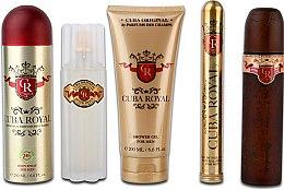 Cuba Royal Must Have - Sada (edt/100ml + ash 100ml + sh/gel/200ml + deo/200ml + edt/35ml) — foto N2