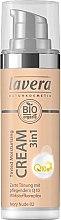 Parfémy, Parfumerie, kosmetika Hydratační základ - Lavera Tinted Moisturizing Cream 3-in-1 Q10