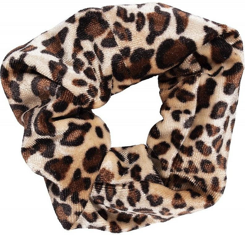 Gumička do vlasů, 22890, leopard 2 - Top Choice Leopard
