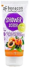 Parfémy, Parfumerie, kosmetika Sprchový peeling - Benecos Natural Care Apricot & Elderberry Shower Scrub