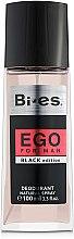 Parfémy, Parfumerie, kosmetika Bi-Es Ego Black Edition - Parfémovaný deodorant-sprej