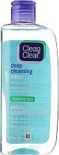 Parfémy, Parfumerie, kosmetika Mléko na hluboké čištění obličeje pro citlivou plet' - Clean & Clear Deep Cleansing Lotion
