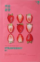 "Parfémy, Parfumerie, kosmetika Látková maska ""Jahoda"" - Holika Holika Pure Essence Mask Strawberry"