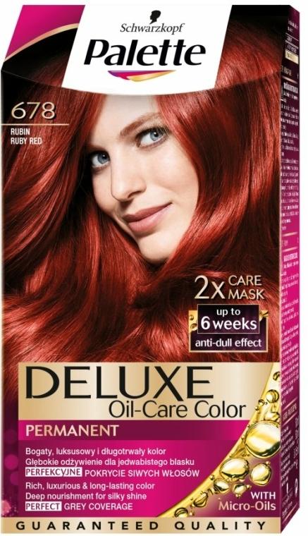 Barva na vlasy - Schwarzkopf Palette Deluxe