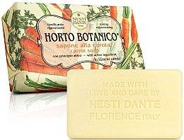 """Parfémy, Parfumerie, kosmetika Mýdlo """"Mrkev"""" - Nesti Dante Horto Botanico Carota Soap"""