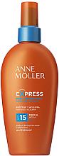 Parfémy, Parfumerie, kosmetika Opalovací sprej pro urychlení opálení - Anne Moller Express Sunscreen Body Spray SPF15