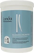 Parfémy, Parfumerie, kosmetika Zesvětlující pudr na vlasy Kreativní - Londa Professional Blondes Unlimited Creative Lightening Powder