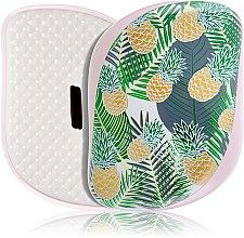 Parfémy, Parfumerie, kosmetika Kompaktní kartáč na vlasy - Tangle Teezer Compact Styler Brush Palms & Pineapples