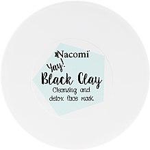 Parfémy, Parfumerie, kosmetika Hliněná maska na obličej - Nacomi Black Clay