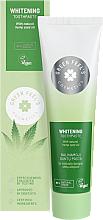 Parfémy, Parfumerie, kosmetika Bělicí zubní pasta s přírodním olejem z konopných semen - Green Feel's Whitening Toothpaste