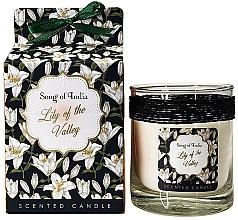 """Parfémy, Parfumerie, kosmetika Aromatická svíčka ve skleněné nádobě """"Konvalinka"""" - Song of India Lily of the Valley Candle"""