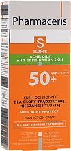 Parfémy, Parfumerie, kosmetika Opalovací krém na pleť s akné - Pharmaceris S Medi Acne Protect Cream SPF50
