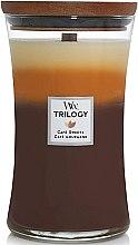 Parfémy, Parfumerie, kosmetika Aromatická svíčka ve sklenici - Woodwick Trilogy Candle Large Cafe Sweets