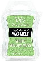 Parfémy, Parfumerie, kosmetika Aromatický vosk - WoodWick Wax Melt White Willow Moss