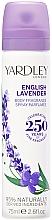 Parfémy, Parfumerie, kosmetika Sprej na tělo - Yardley English Lavender Refreshing Body Spray