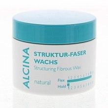 Parfémy, Parfumerie, kosmetika Vláknový vosk pro přirozené fixace - Alcina Natural Struktur Faser Wachs