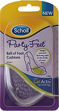 Parfémy, Parfumerie, kosmetika Neviditelné ultra tenké gélové podložky - Scholl Party Feet Ultra Slim Invisible Gel Cushions