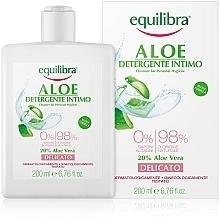 Parfémy, Parfumerie, kosmetika Jemný gel pro intimní hygienu - Equilibra Aloe Gentle Cleanser For Personal Hygiene