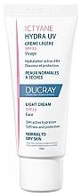 Parfémy, Parfumerie, kosmetika Lehký krém pro normální a suchou pleť - Ducray Ictyane Hydra UV Light Cream SPF 30