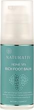 Parfémy, Parfumerie, kosmetika Balzám na nohy - Naturativ Home Spa Rich Foot Balm