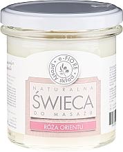Parfémy, Parfumerie, kosmetika Masážní aromatická svíčka Orientální růže - E-Fiore Massage Candle