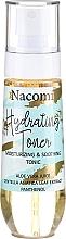 Parfémy, Parfumerie, kosmetika Hydratační tonikum na obličej - Nacomi Hydrating Moisturizing & Soothing Tonic