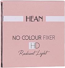 Parfémy, Parfumerie, kosmetika Pudr na obličej - Hean No Colour Fixer HD Compact Powder