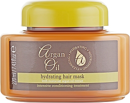 Parfémy, Parfumerie, kosmetika Maska na vlasy - Xpel Marketing Ltd Argan Oil Heat Hair Mask