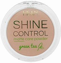 Parfémy, Parfumerie, kosmetika Pudr na obličej - Hean Shine Control Matte Care Powder