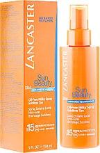 Parfémy, Parfumerie, kosmetika Tělové mléko ve spreji bez tuku - Lancaster Sun Beauty Oil-Free Milky Spray SPF 15