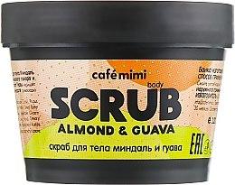 Parfémy, Parfumerie, kosmetika Peeling na tělo Mandle a Guava - Cafe Mimi Body Scrub Almond & Guava