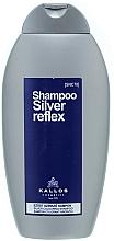 Parfémy, Parfumerie, kosmetika Stříbrný barevný šampon - Kallos Cosmetics Silver Reflex Shampoo