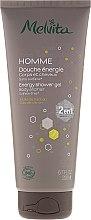 Parfémy, Parfumerie, kosmetika Pánský sprchový gel a šampon 2 v 1 - Melvita Homme Energy Shower Gel