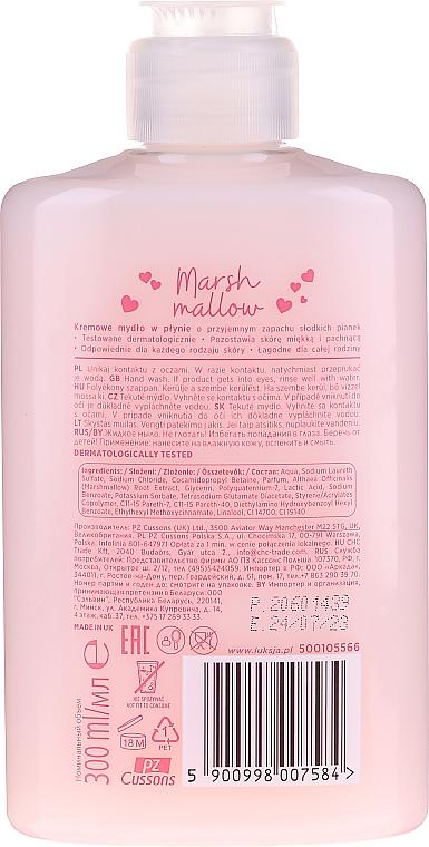 "Tekuté krémové mýdlo ""Marshmallow"" - Luksja Marshmallow Hand Wash — foto N2"