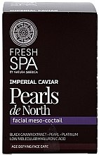 """Parfémy, Parfumerie, kosmetika Meso Cocktail na obličej """"Perly severu"""" - Natura Siberica Fresh Spa Imperial Caviar Pearls De North"""