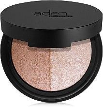 Parfémy, Parfumerie, kosmetika Paleta na obličej - Aden Cosmetics Highlighter & Bronzer Duo