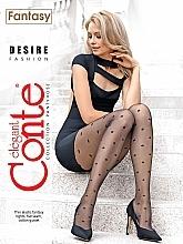 Parfémy, Parfumerie, kosmetika Punčocháče Fantasy Desire 20 Den, nero - Conte