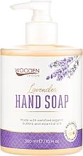Parfémy, Parfumerie, kosmetika Tekuté mýdlo Levandule - Wooden Spoon Lavender Hand Soap