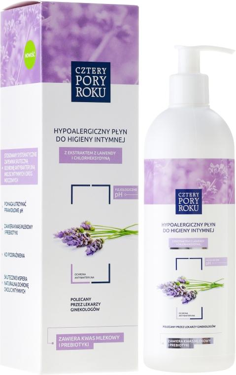 """Gel pro intimní hygienu """"Levandule"""" - Cztery Pory Roku Lavender Intimate Hygiene Wash"""