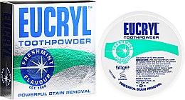 Parfémy, Parfumerie, kosmetika Zubní prášek - Eucryl Toothpowder Freshmint
