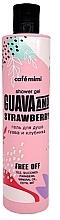Parfémy, Parfumerie, kosmetika Sprchový gel Guava a jahoda - Cafe Mimi Shower Gel Guava And Strawberry