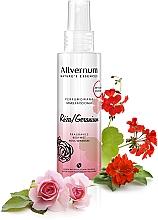 "Parfémy, Parfumerie, kosmetika Parfémovaný sprej na tělo ""Rose and Geranium"" - Allvernum Nature's Essences Body Mist"