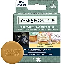 Parfémy, Parfumerie, kosmetika Vůně do auta (náhradní náplň) - Yankee Candle Car Powered Fragrance Refill Vanill
