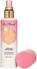 Parfémy, Parfumerie, kosmetika Mist na obličej - Too Faced Peach Mist Setting Spray