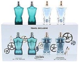 Parfémy, Parfumerie, kosmetika Jean Paul Gaultier Le Male - Sada (edt/7ml + edt/7ml + edp/7ml + edp/7ml)