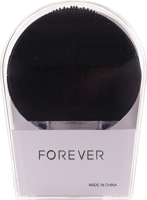 Čisticí kartáček na obličej, černý - Forever Lina Facial Cleansing Brush Black