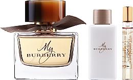 Parfémy, Parfumerie, kosmetika Burberry My Burberry - Sada (edp/90ml + b/lot/75ml + edp/7,5ml)
