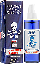 Parfémy, Parfumerie, kosmetika Tonikum na úpravu vlasů - The Bluebeards Revenge Cuban Blend Hair Tonic