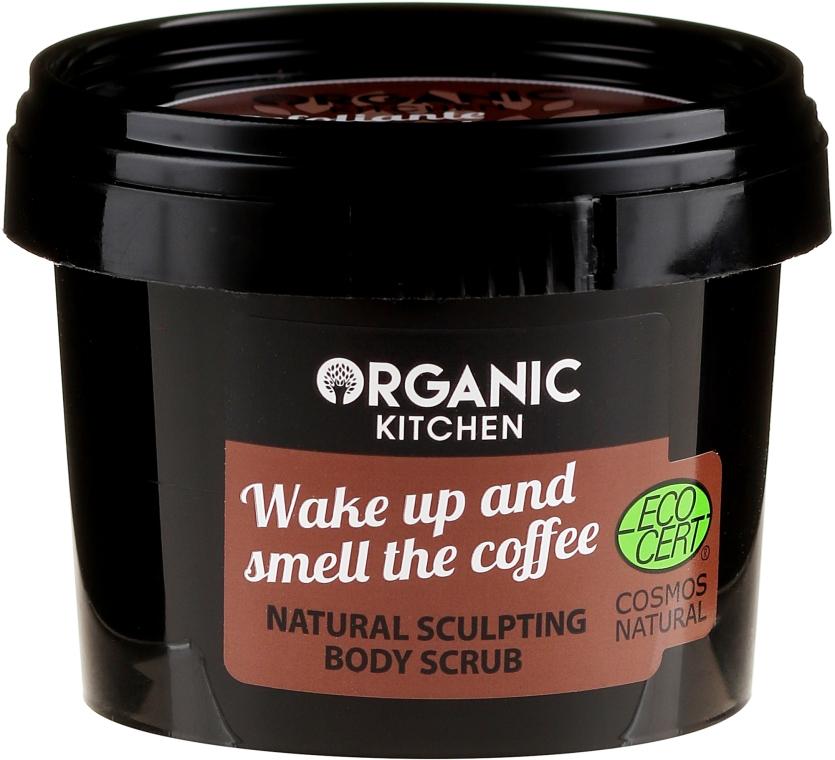 """Tělový peeling """"Probuď se a užij si vůni kávy"""" - Organic Shop Organic Kitchen Body Scrub"""